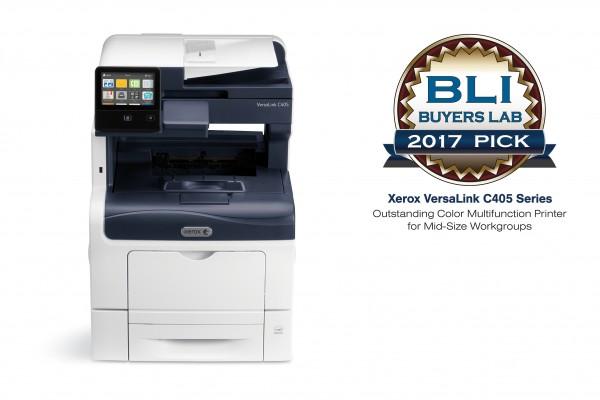 Xerox VersaLink C405 - BLI 2017
