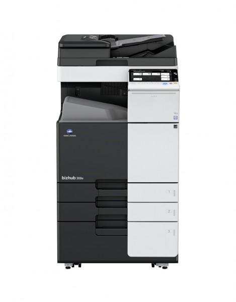 Konica Minolta bizhub 368e Kopiersystem Drucksytem A3 schwarz weiß