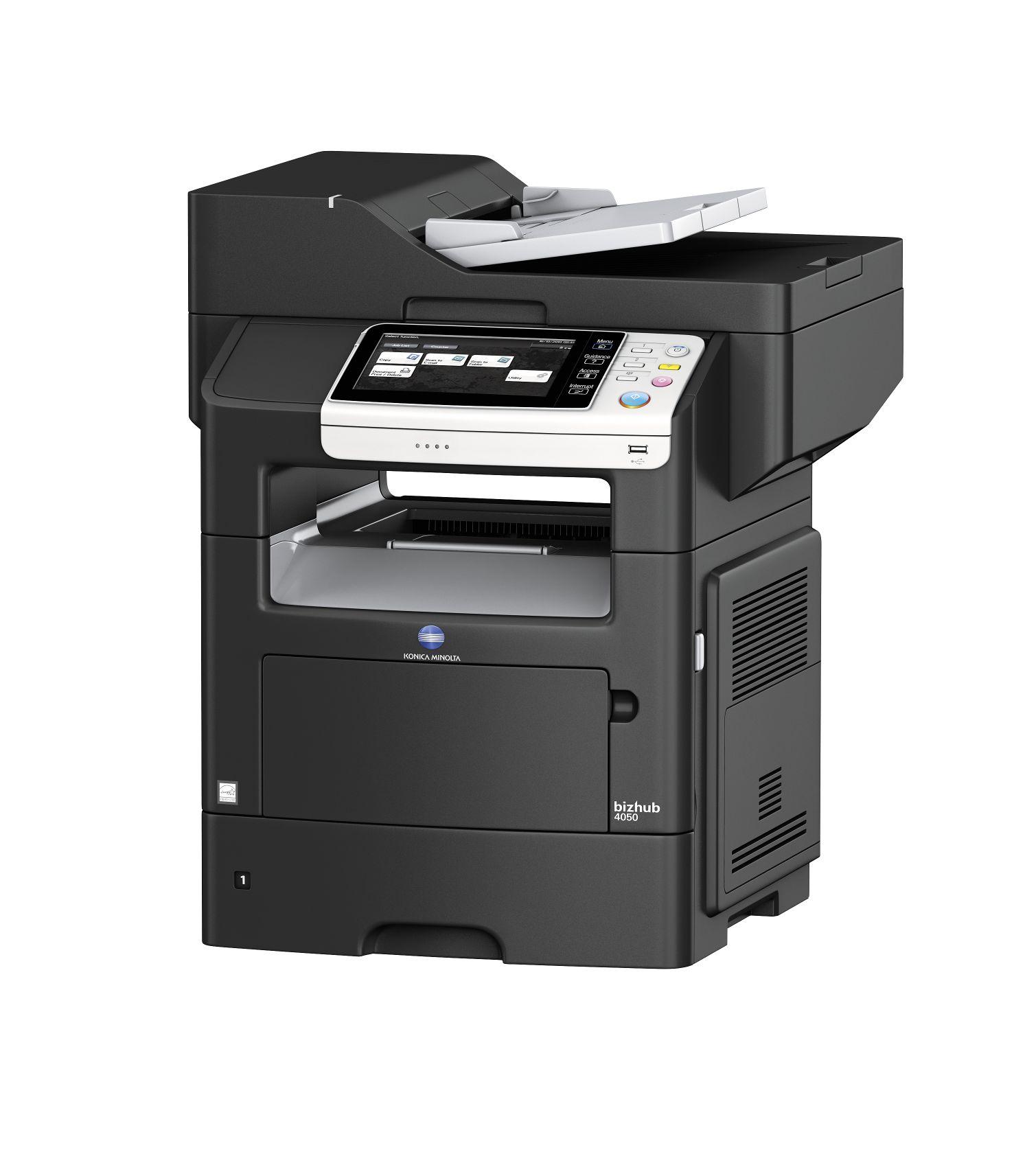 Bizhub 4050 Schwarzweiß Multifunktionsdrucker; Drucker kaufen