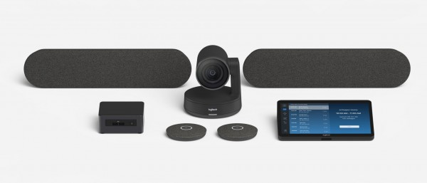 Logitech Tap Raumlösung für Videokonferenzen (für große Räume)