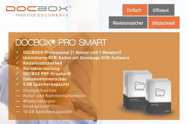 DOCBOX Pro Smart Archivierungssoftware