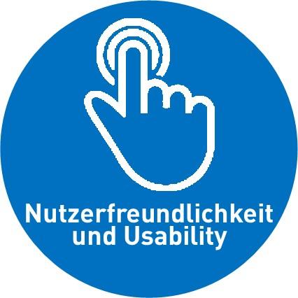 Intuitive Oberfläche und Usability