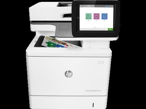 HP Color LaserJet Managed Flow MFP E57540c