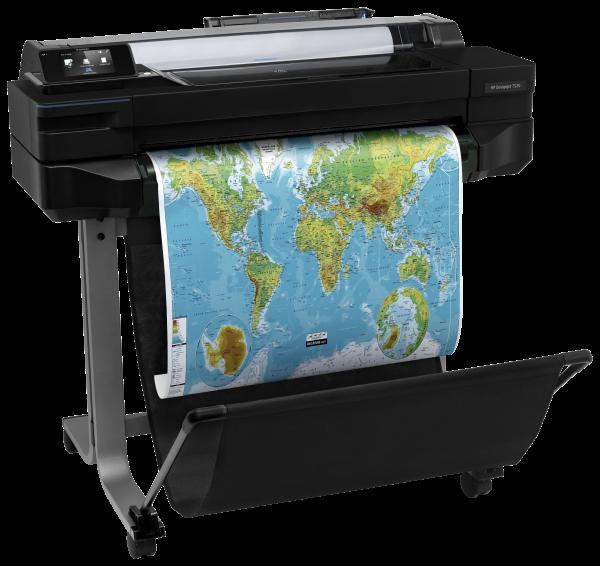 HP DesignJet T520 Landkarte