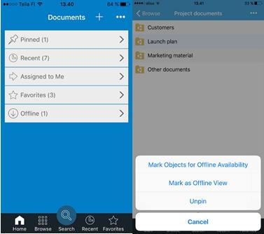 M-Files-mobile-app