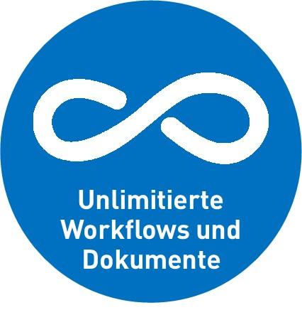 Unlimitierte Workflows und Dokumente