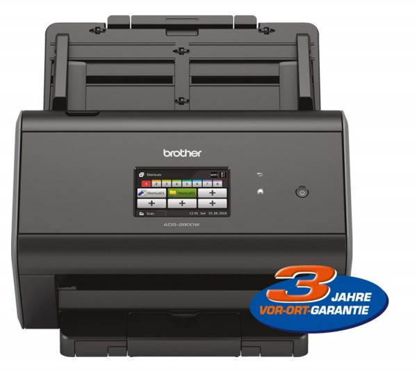 Brother ADS2800W Scanner Farbe