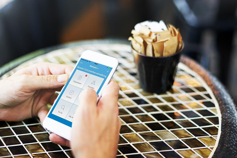 mobile-ECM-software