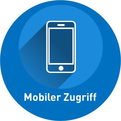 Mobiler Zugriff per App / Web-Client