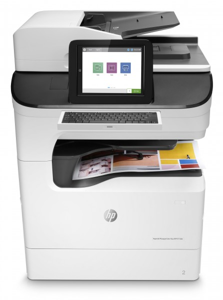 HP PageWide Managed Color Flow MFP E77650z