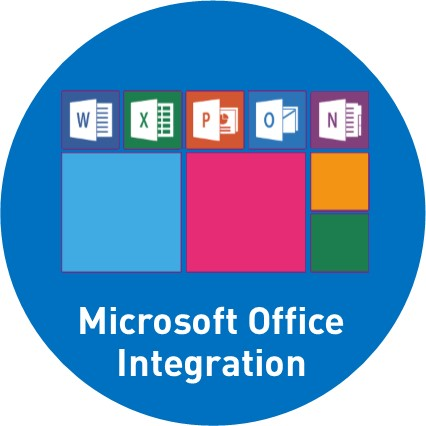 Integration in MS Office und Outlook