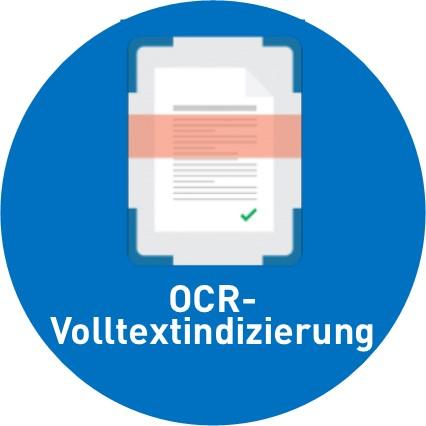OCR-Volltextdurchsuchbarkeit